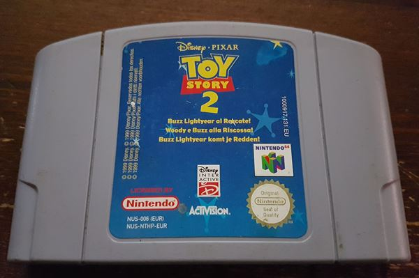 N64 Toy Story 2